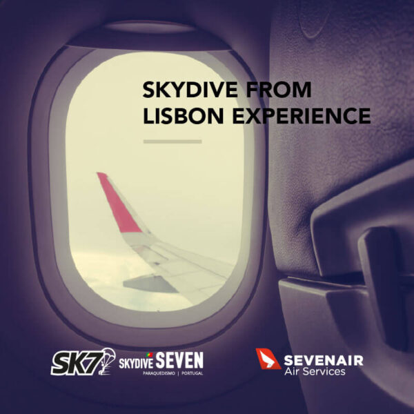 Skydive from Lisbon Experience by Skydive Seven and Sevenair.