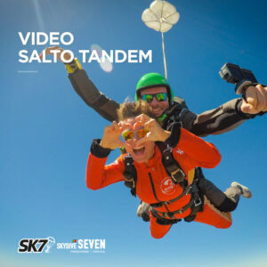 Video do Salto de Paraquedas Tandem no Algarve